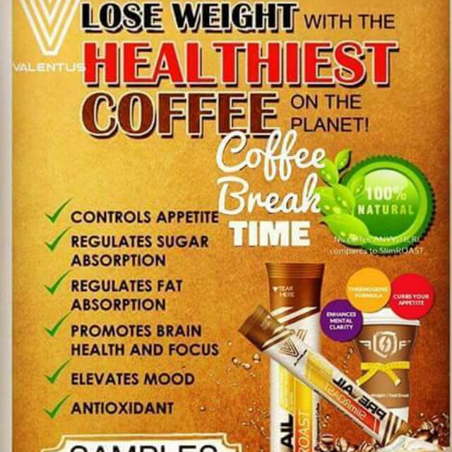 VALENTUS SLIMROAST COFFEE FROM U.S.A