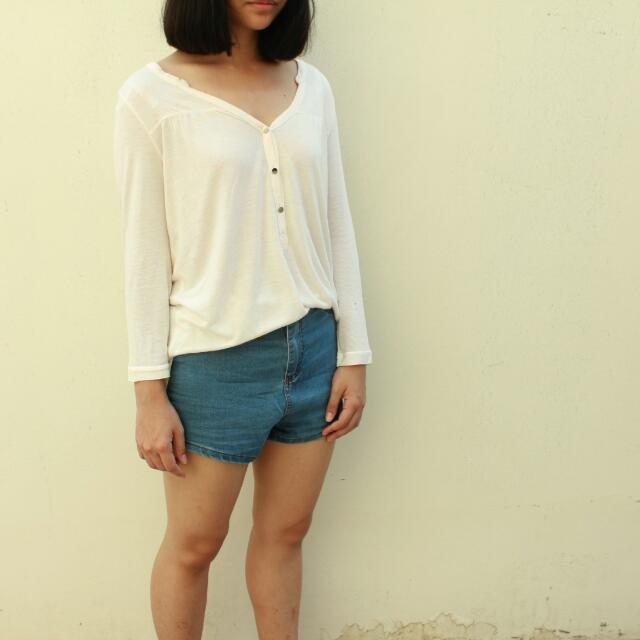 "White Sprinkle Top ""H&M"""