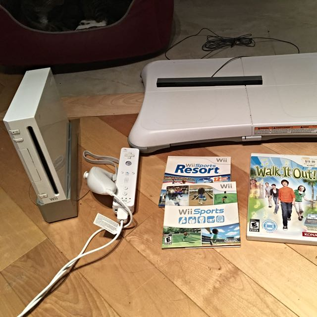 Wii Fitness Package
