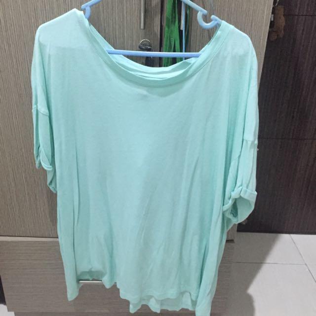 Zara Mint Blouse