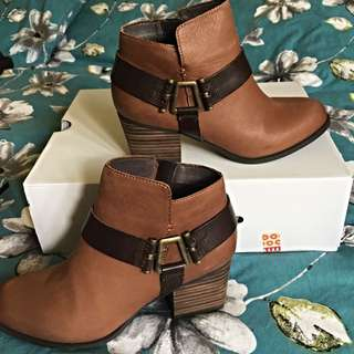 Aldo Genuine Leather Booties Size 7