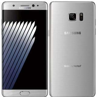 WTB BNIB Samsung Note 7 Silver