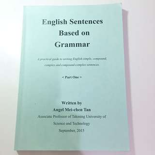 English Sentences Based on Grammar 1