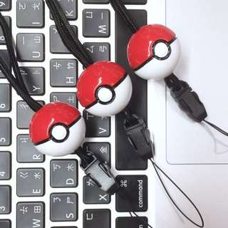 pokemon 寶貝球手機掛繩_神奇寶貝