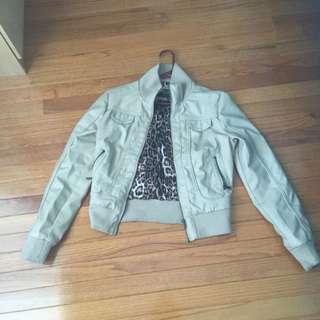 Faux Brown Jacket