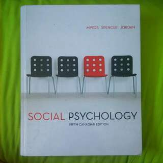 Social Psychology By Myers 5th Ed