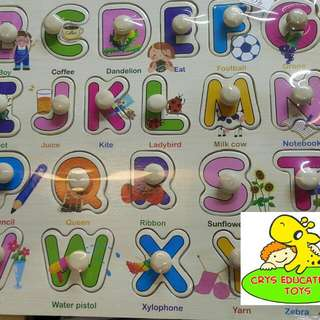 Alphabet Wooden Toy Puzzle