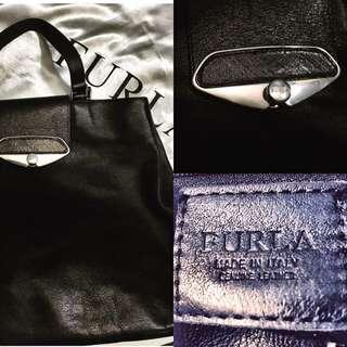 Furla Black Tote Bag