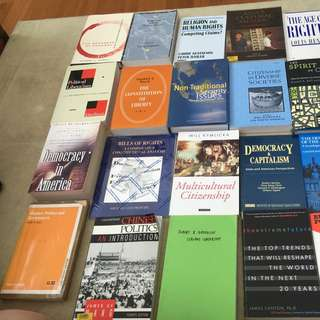 Political science, History and Sociology Books