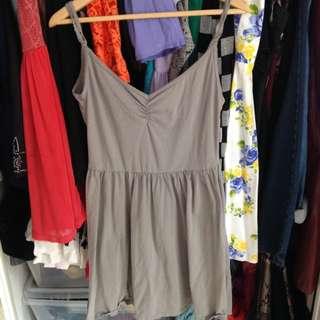(PENDING) ASOS Grey Low Back Dress