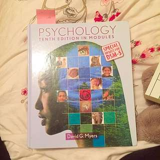 Psychology 10th Edition And Study Guide