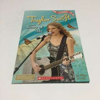 Taylor Swift 'The Story Of Me' Book