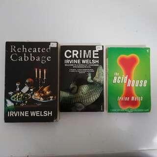 IRVINE WELSH BOOKS