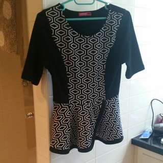 New Patterned Top