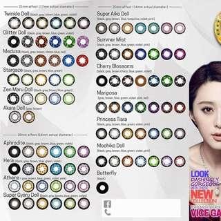 CHEAP contact lenses
