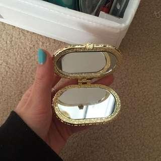 Small Asian Pocket Mirror