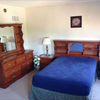 5 Piece Solid Wood Bedroom Set