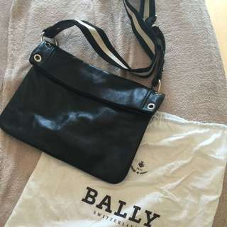 Bally Sling Leather Bag