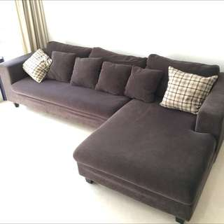 Super Comfy L Shaped Couch