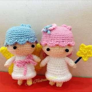 Crochet Little Twin Stars