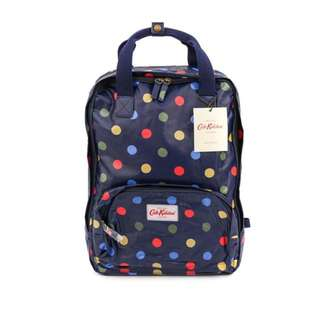 Cath Kidston Button Spot Backpack
