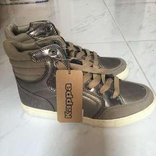 KAPPA HI-CUT rubber shoes for teens