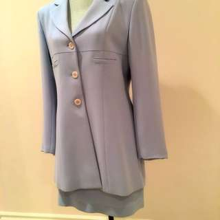 """Virani"" Size 8 Powder Blue Suit"