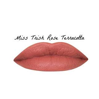 SHANGHAI SUZY MISS TRISH (ROSE TERRACOTTA) WHIPPED MATTE LIPSTICK | MADE IN AUS