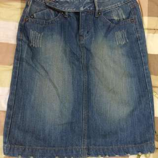 (REDUCED!!) Jeans Skirt