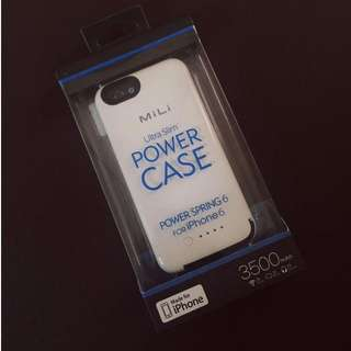 MILI Ultra Slim Power Case for iPhone 6