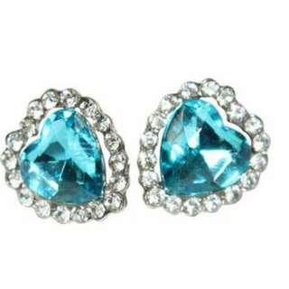 Titanic Heart Fashionable Earings
