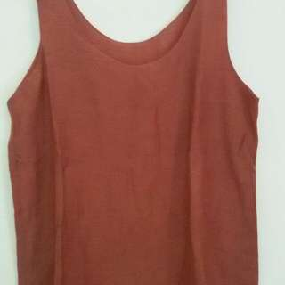 Brown Tanktop