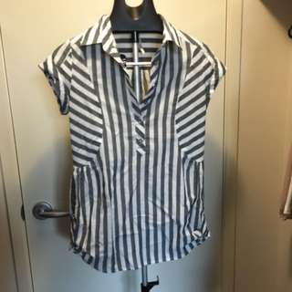 Ally Striped Top size 10