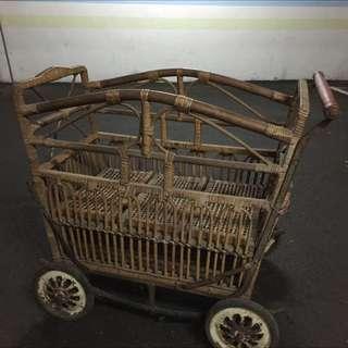 老件嬰兒車