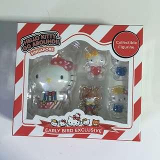 BNIB Hello Kitty Go Around Singapore Collectible Figurine