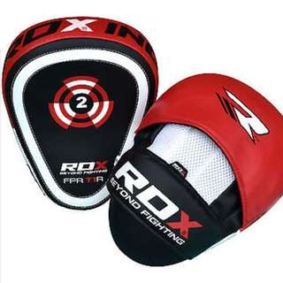 Muay Thai / boxing Focus Mitts RDX Pro UK