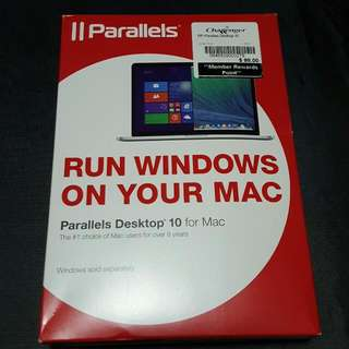 Parallels Desktop 10 + Windows 8.1 for Mac