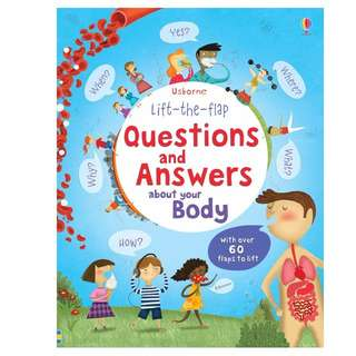 [In Stock] Usborne Lift the Flap Questions & Answers About Your Body