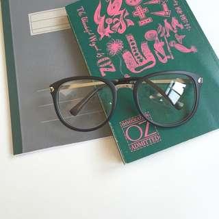 文青眼鏡 霧面 造型眼鏡