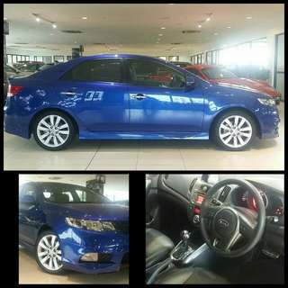 $17k Downpayment Only @ 2.78% Low Interest  Sep 2012 Kia Cerato  Forte 1.6 SX A