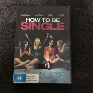 How To Be Single DVD