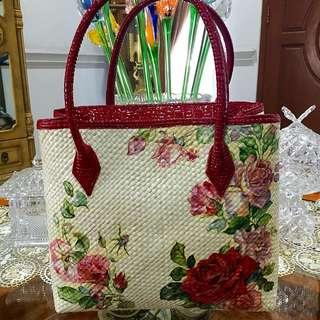 Handmade Decoupage Handbag