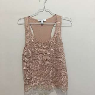 Forever 21 Lace Tanktop