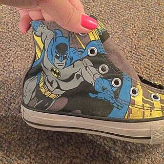 Batman Converse High Tops