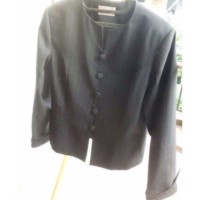 1 Set Blazer & Skirt - Strip Patern