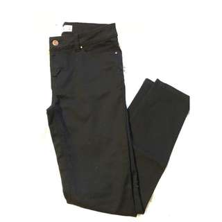 Low Rise Skinny Jeans Black