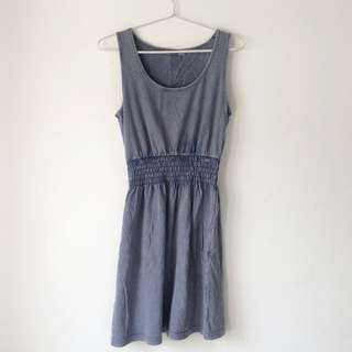 Soft Denim Mini Dress