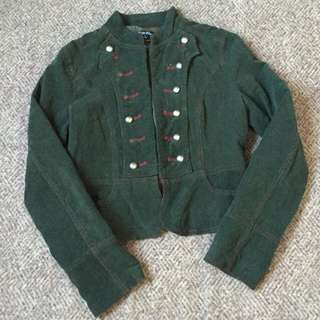 Womens Military Jacket
