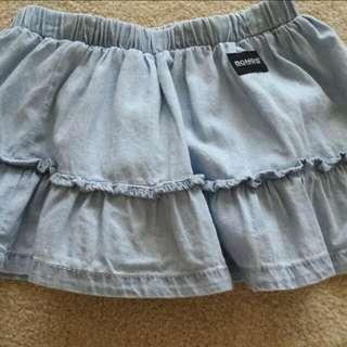 Bonds Ruffle Skirt Size 1