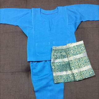 Boy's Baju Melayu Johor